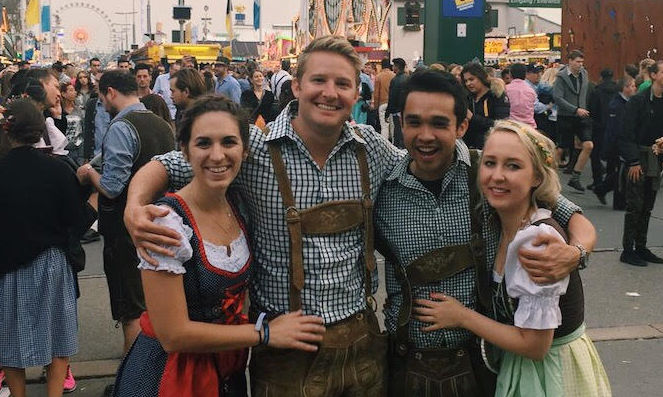 What to wear to Oktoberfest - a female traveler's packing guide