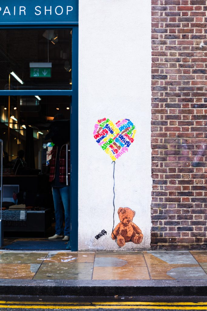 The best of Shoreditch street art
