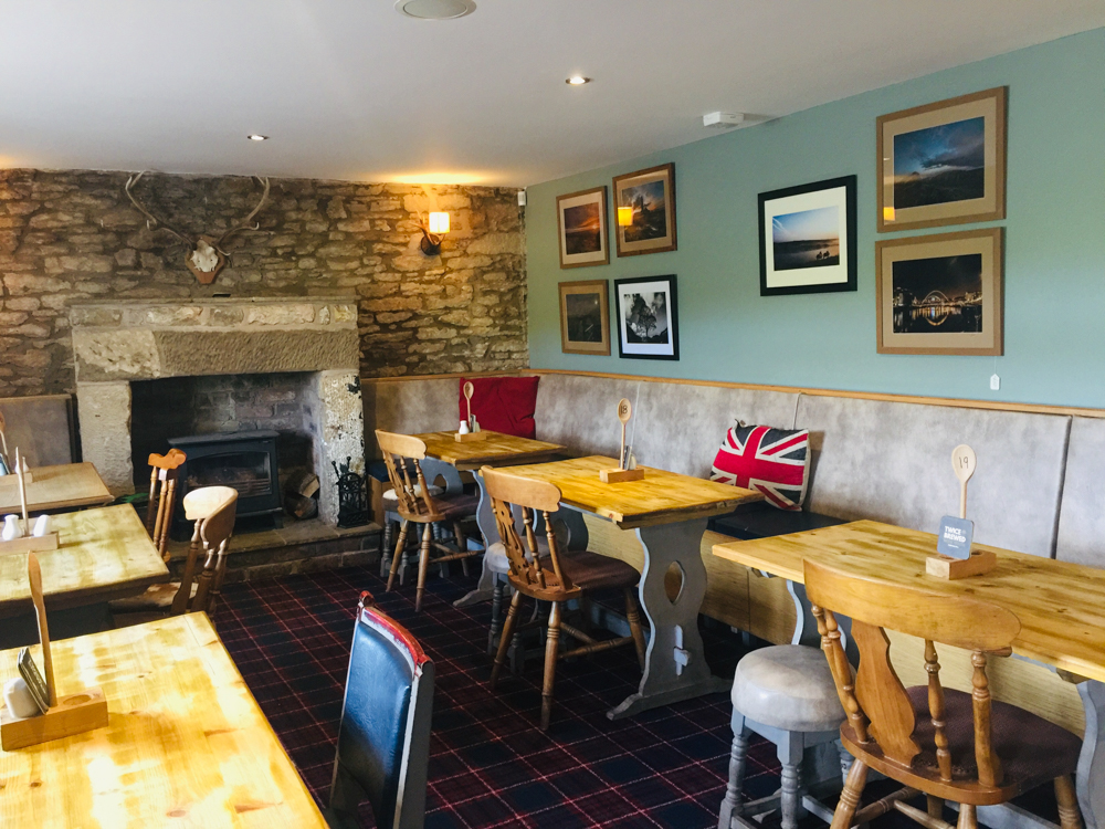 The Twice Brewed Inn on Hadrian's Wall