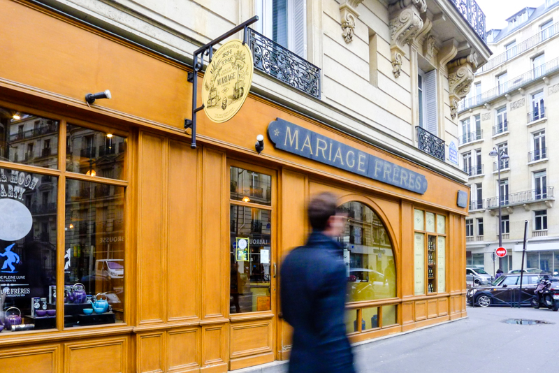 Mariage Freres - the best place to buy tea in Paris