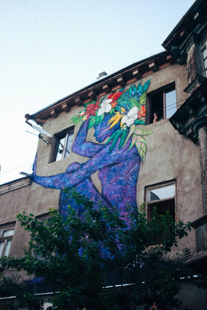 Street art in Tbilisi