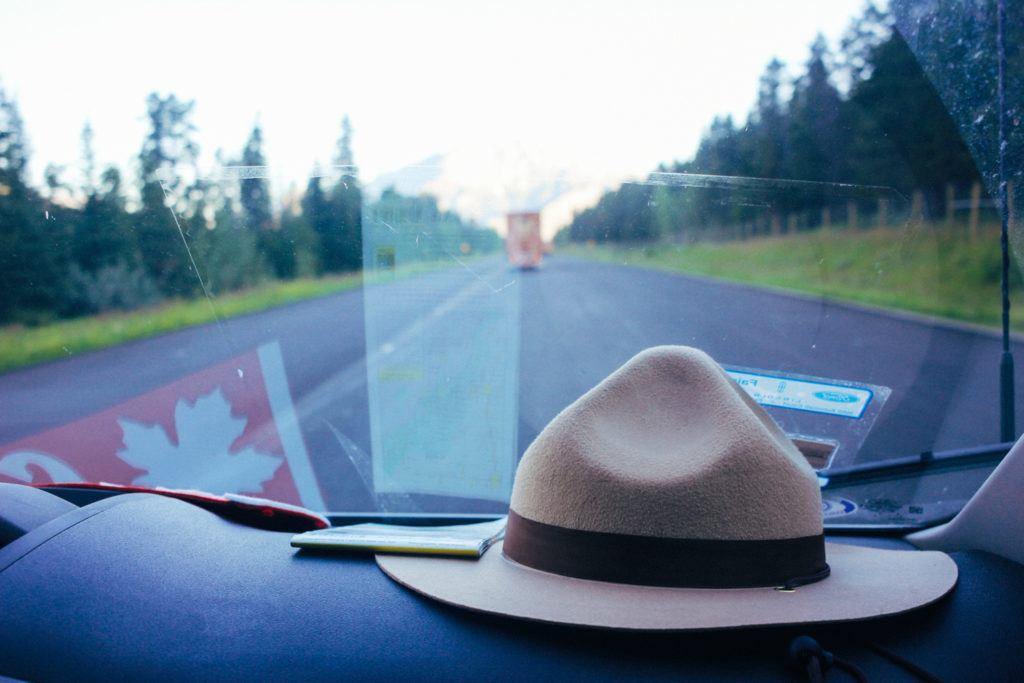 Road tripping in Canada