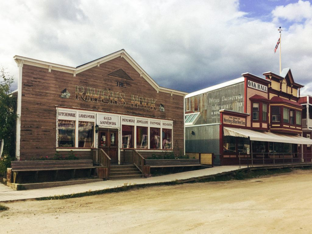Downtown Dawson City, Canada