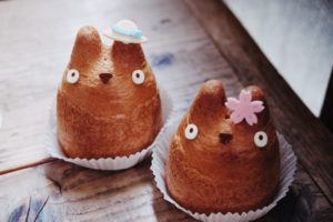 Adorable Totoro cream puffs