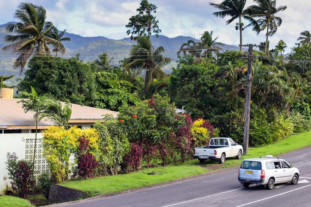 A truck in Fiji