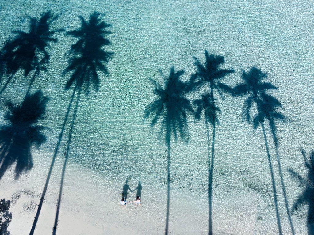 The beach in Fiji