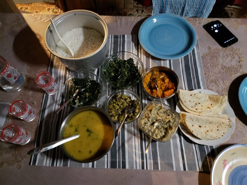 An Indian curry in Suva