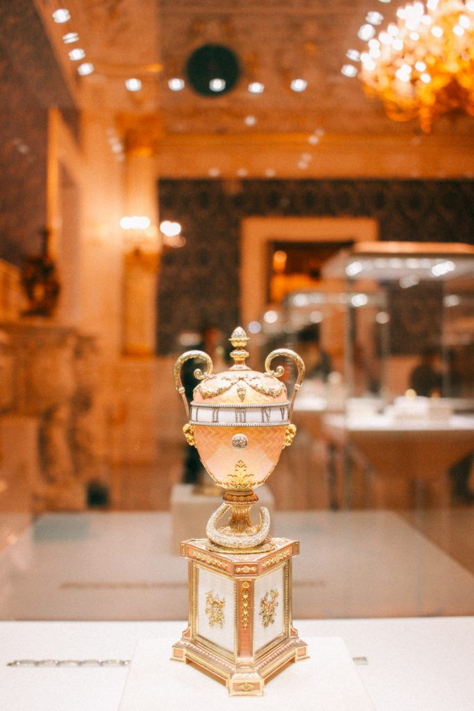 The Faberge Egg Museum in St. Petersburg, Russia